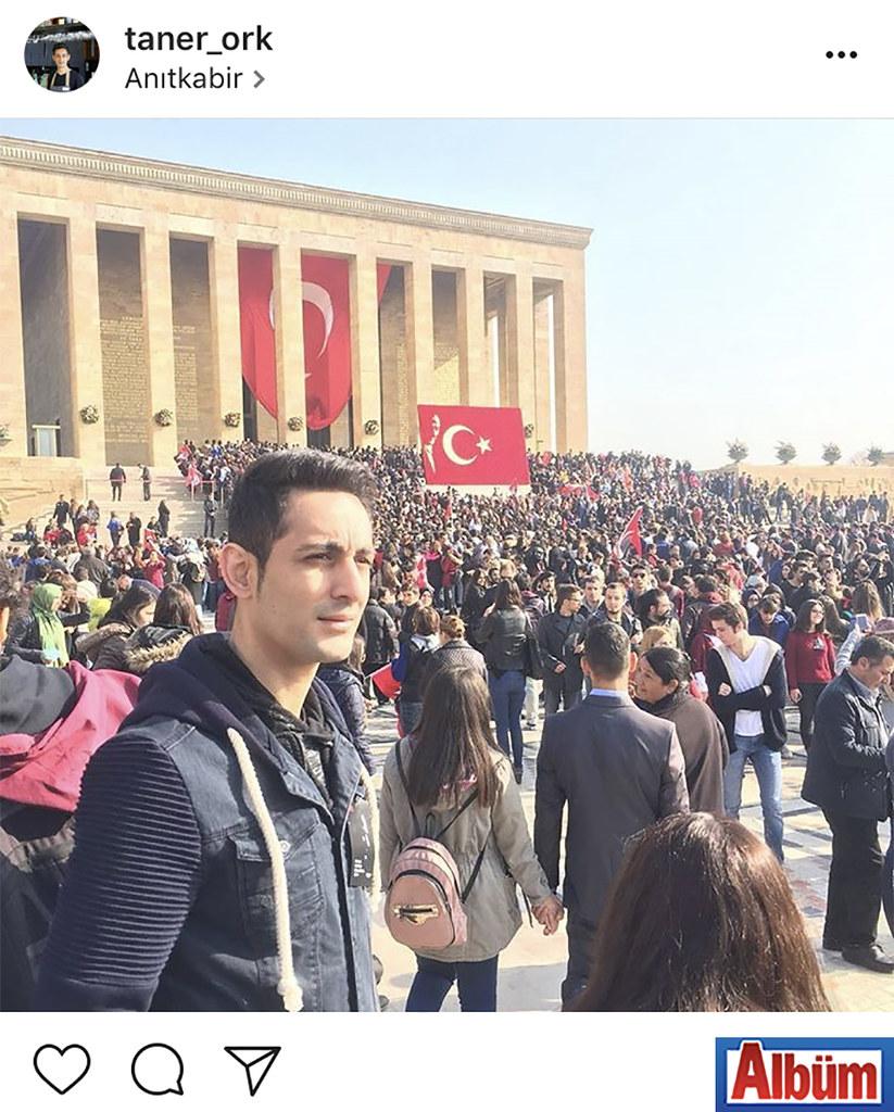 Taner Orak, 10 Kasım'da Anıtkabir'i ziyaret ederek Ulu Önder M. Kemal Atatürk'ü saygıyla andı.