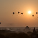 Sunrise in Bagan by MGunawan