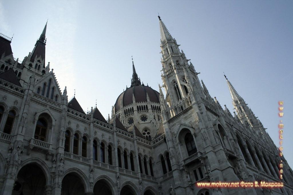 Столица Венгрии - Будапешт с фотокамерой прогулки туристов