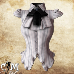 CM Roxy blouse Grey