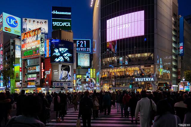 澀谷十字交叉路口