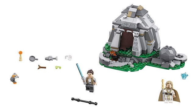 LEGO Star Wars 75200 - Ahch-To Island Training