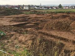 Archäologische Grabungen vor Ober Wöllstadt