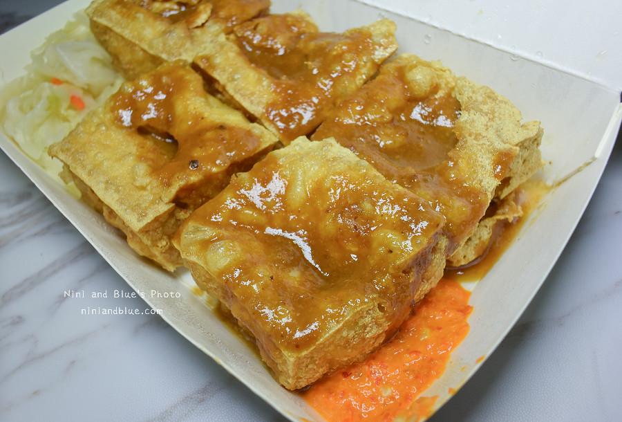 台中素食臭豆腐向上黃昏菜市場美食02