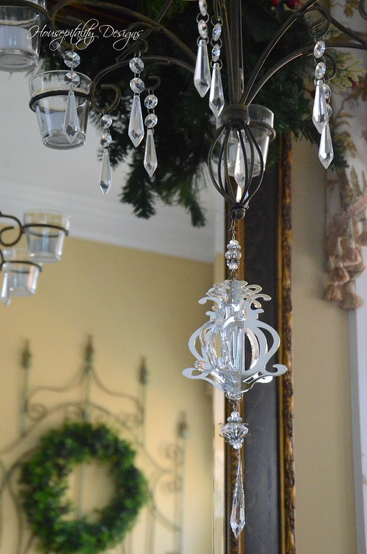 Chandelier Ornament-Housepitality Designs