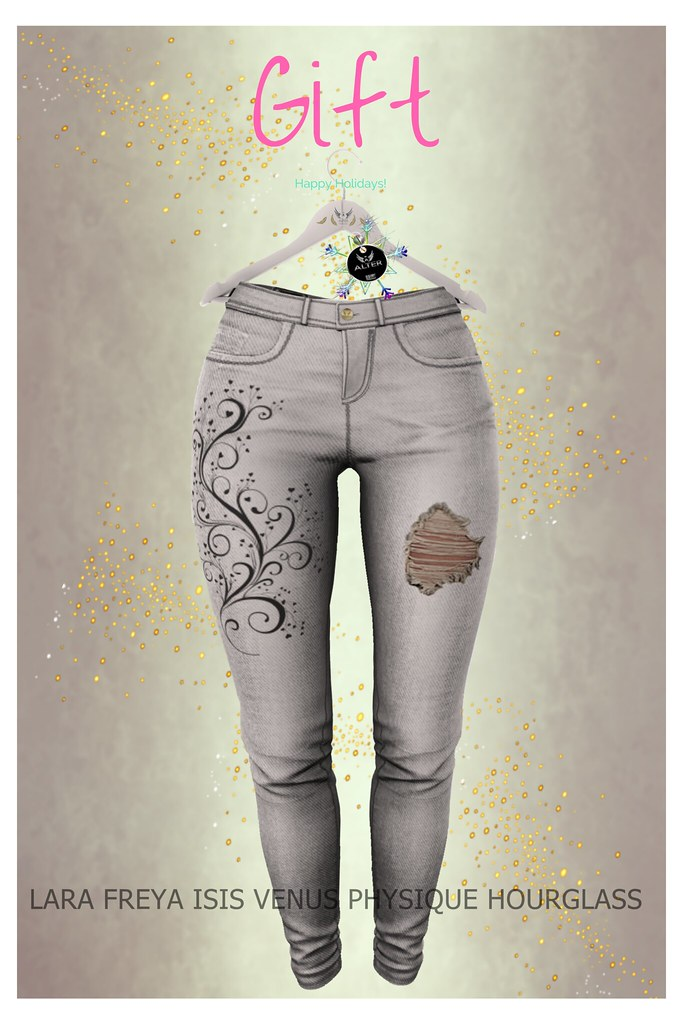 ALTER Rossi Skinny Jeans - MAITREYA, BELLEZA, SLINK SILVER - TeleportHub.com Live!