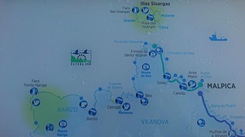 De Malpica a Punta Nariga