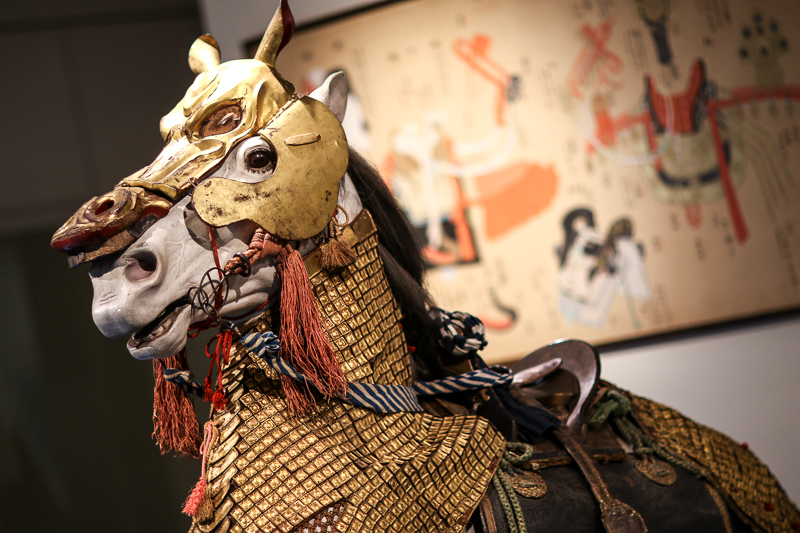 Horse at museum
