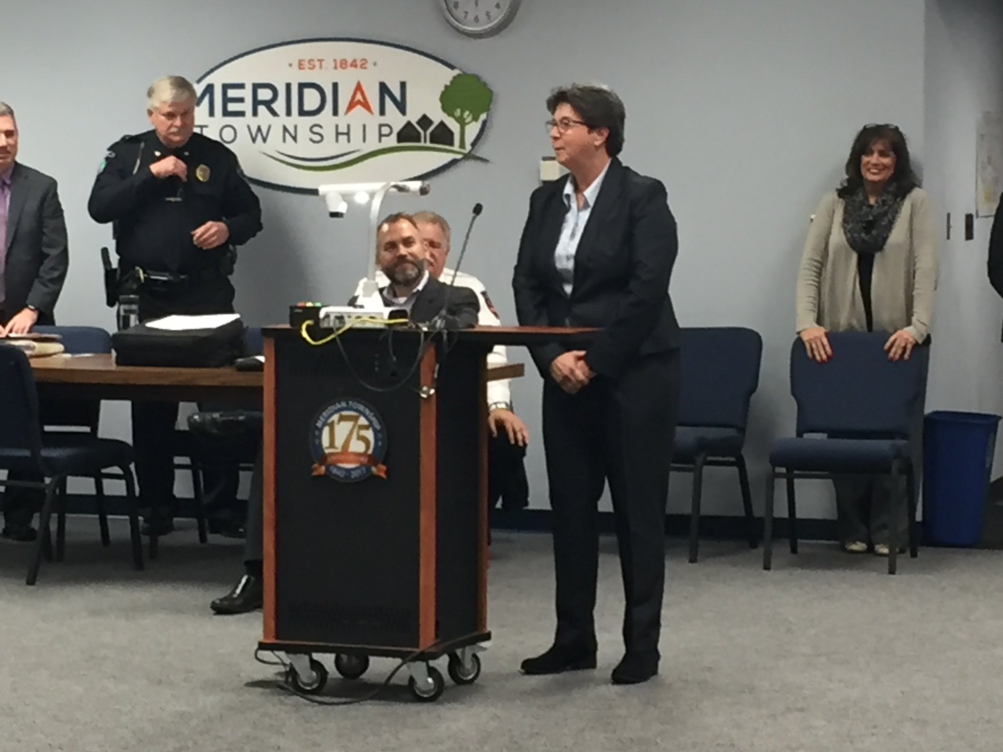 Meridian Announces First Female Fire Chief