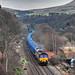 66198 6M16 Wilton-Knowsley empty bins, Horsfall Todmorden 06.12.2017