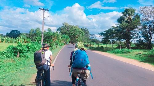 絶好のサイクリング日和