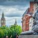 Big Ben and Trafalgar Square Lion