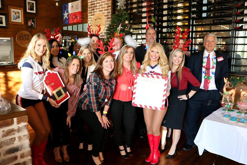 Broker Holiday Happy Hour Feat. The Houston Texans Cheerleaders