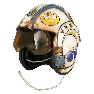 從賈庫星發貨?! ThinkGeek《STAR WARS:原力覺醒》芮的報廢X 翼飛行員頭盔 Star Wars TFA Rey Salvaged X-Wing Pilot Helmet 道具複製品