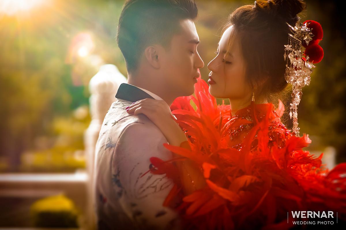 婚紗外拍景點,婚紗攝影,婚紗照,台中華納婚紗推薦,中國風
