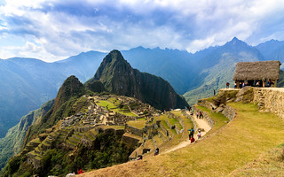 Machu Picchu and the Guard House, Urubamba, Peru