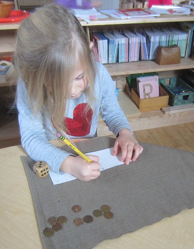 exchanging pennies for dimes