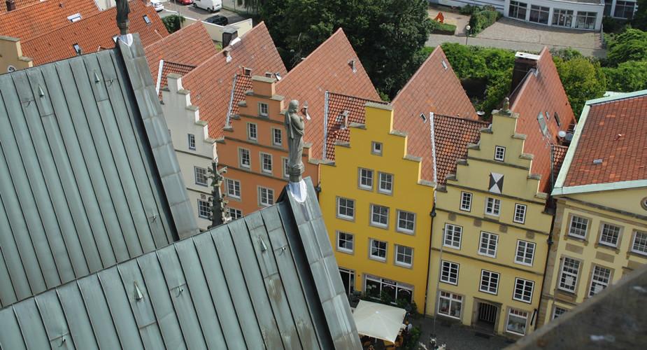 Weekend in Osnabrück, uitzicht Marienkirche | Mooistestedentrips.nl