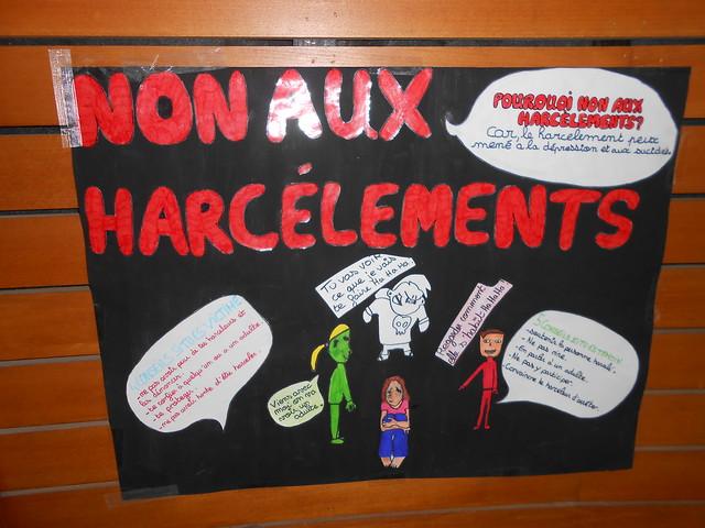Le collège Louis Armstrong de Beynost s'est mobilisé pour lutter contre le harcèlement