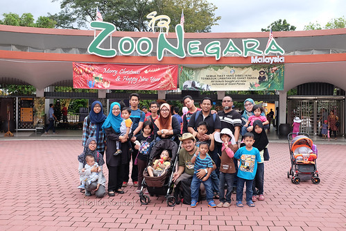 Family outing, Zoo Negara