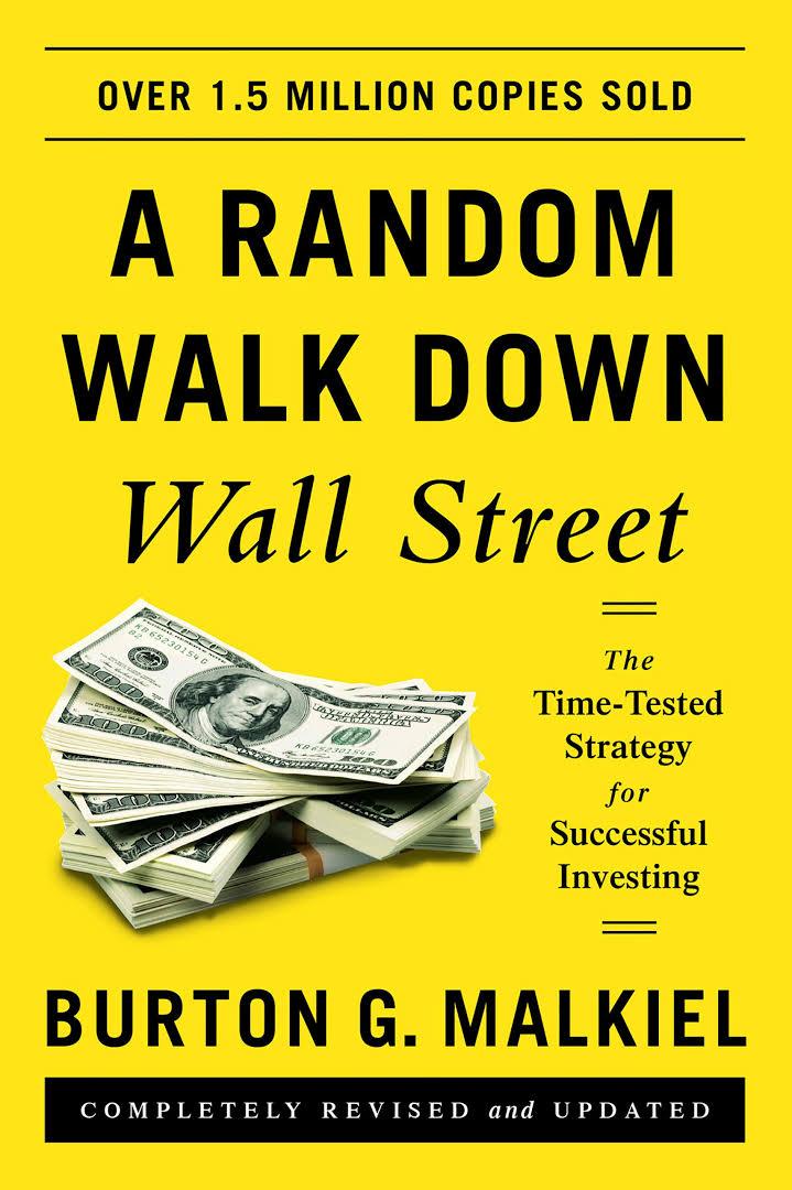 《漫步華爾街》一書封面。(Amazon)