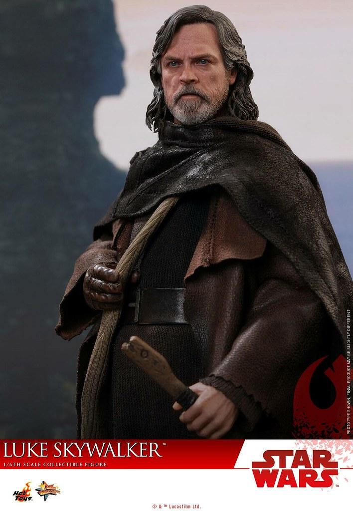 選擇自我放逐的絕地大師! Hot Toys - MMS457 -《STAR WARS:最後的絕地武士》路克·天行者 Star Wars: The Last Jedi Luke Skywalker 1/6 比例可動人偶作品