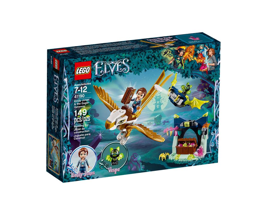 LEGO Elves 41190 - Emily Jones and the Eagle Getaway