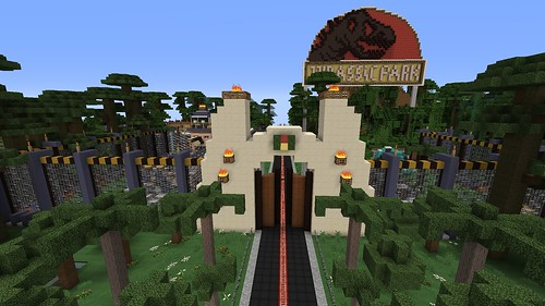 Minecraft - Welcome to Jurassic Park