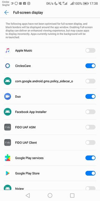 Huawei Mate 10 Pro - Full-screen Display