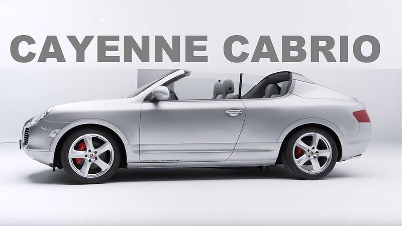 2002 Porsche Cayenne Cabriolet Study