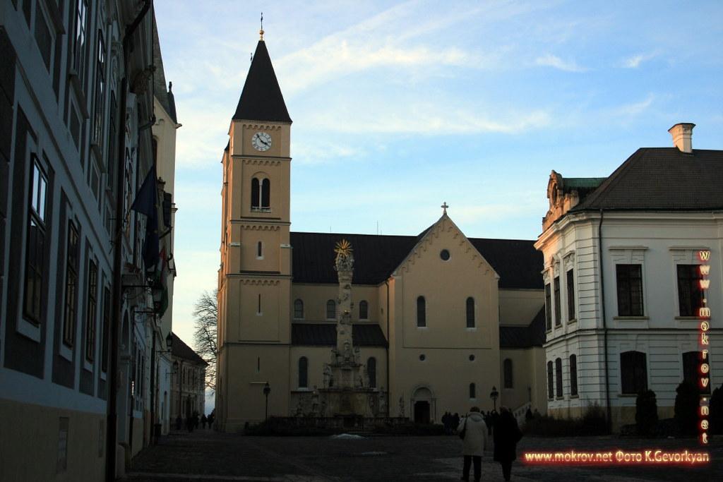 Веспрем — город в Венгрия прогулки туристов