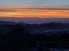 Sunset at Deukmejian Wilderness Park.