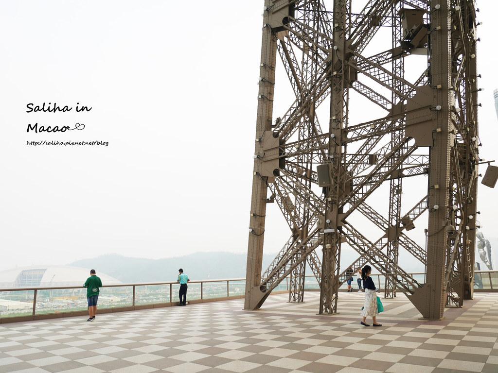 澳門一日遊景點行程推薦威尼斯人巴黎人巴黎鐵塔觀景台