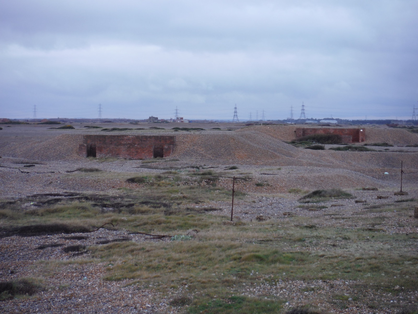 Bunkers, Lydd Ranges SWC 154 - Rye to Dungeness and Lydd-on-Sea or Lydd or Circular