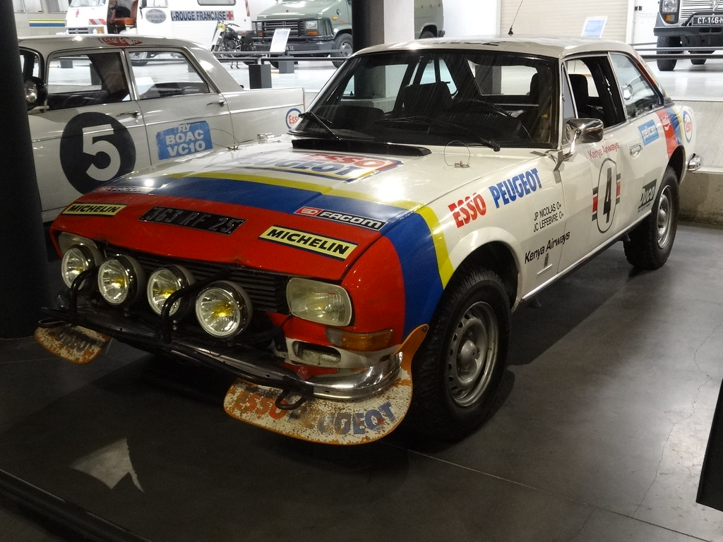 1977 peugeot 504 coupé rallye   this is the peugeot 504 v6 c…   flickr