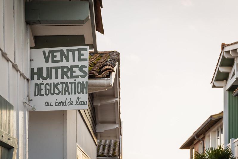 Village ostéricole de l'Herbe - Cap Ferret - Bassin d'Arcachon - Hiver 2016