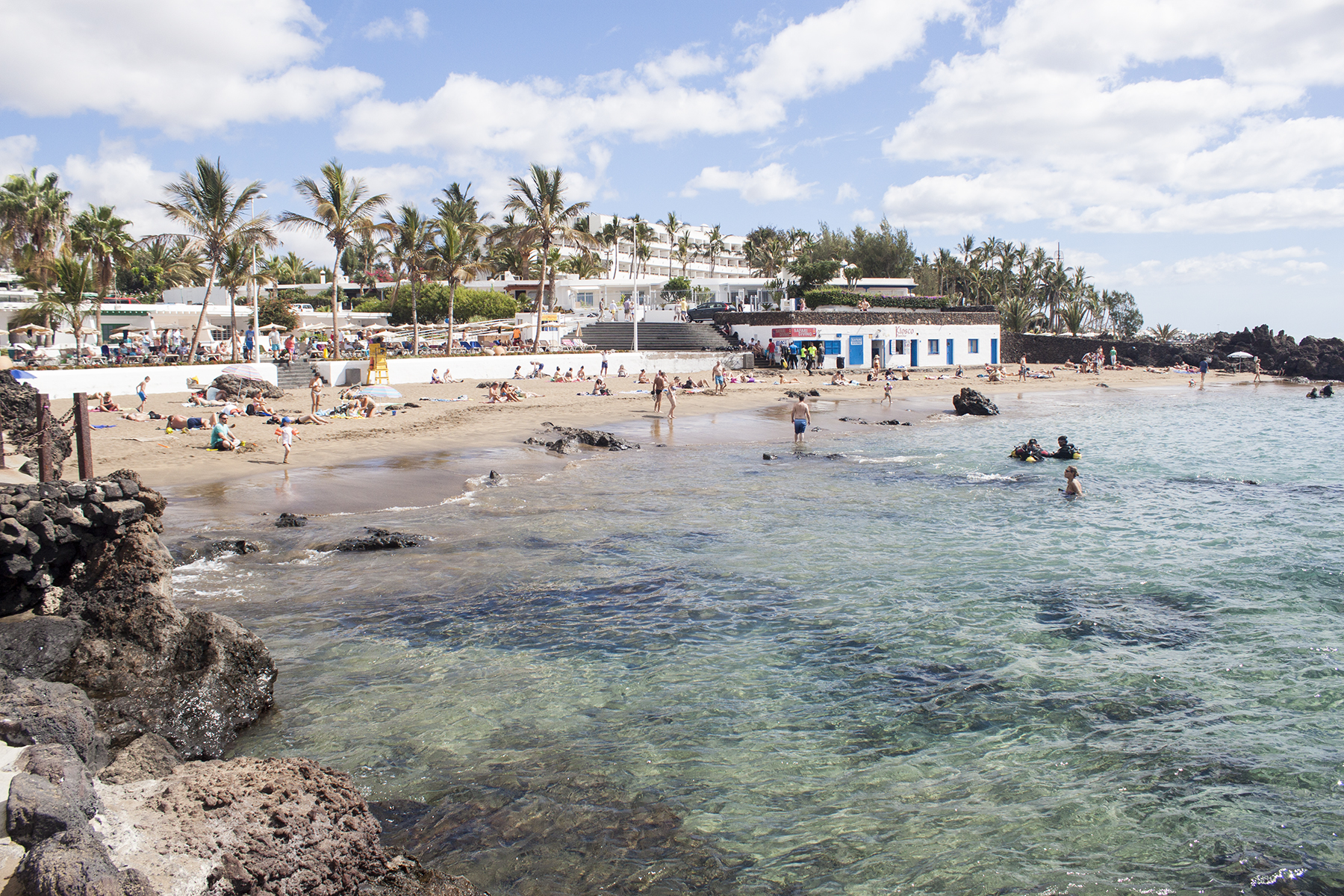 3 Reasons to Visit Lanzarote in the Off Seasons | Beach View | awaywithkatie.com