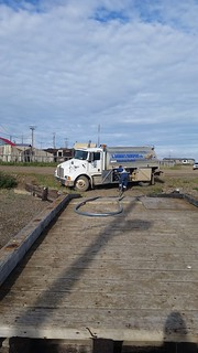 Tuk fueling at the wharf