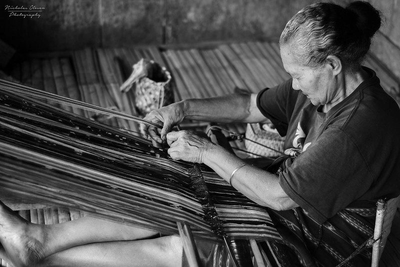 Indonesia | Traditional Weaver