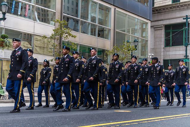 Philadelphia Veterans Parade 11-5-2017