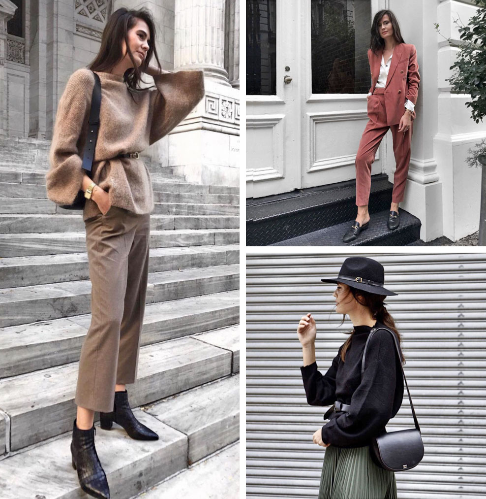 9 Minimalist Fashion Bloggers to Follow (Ivana - Aesthetic Lines)