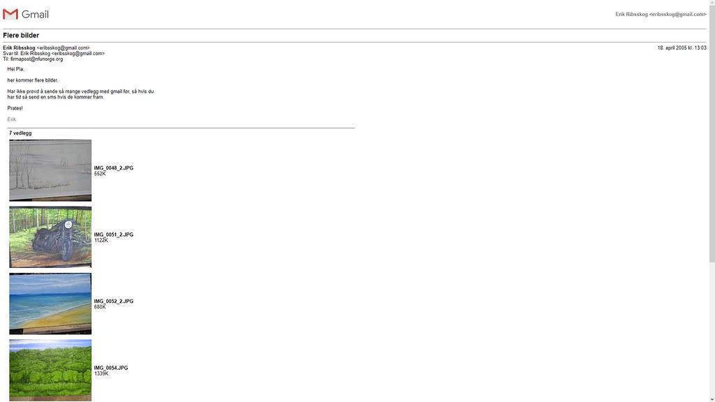 gmail pia sin sjef hm