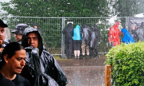 Torrential Wacken rain, as advertised.