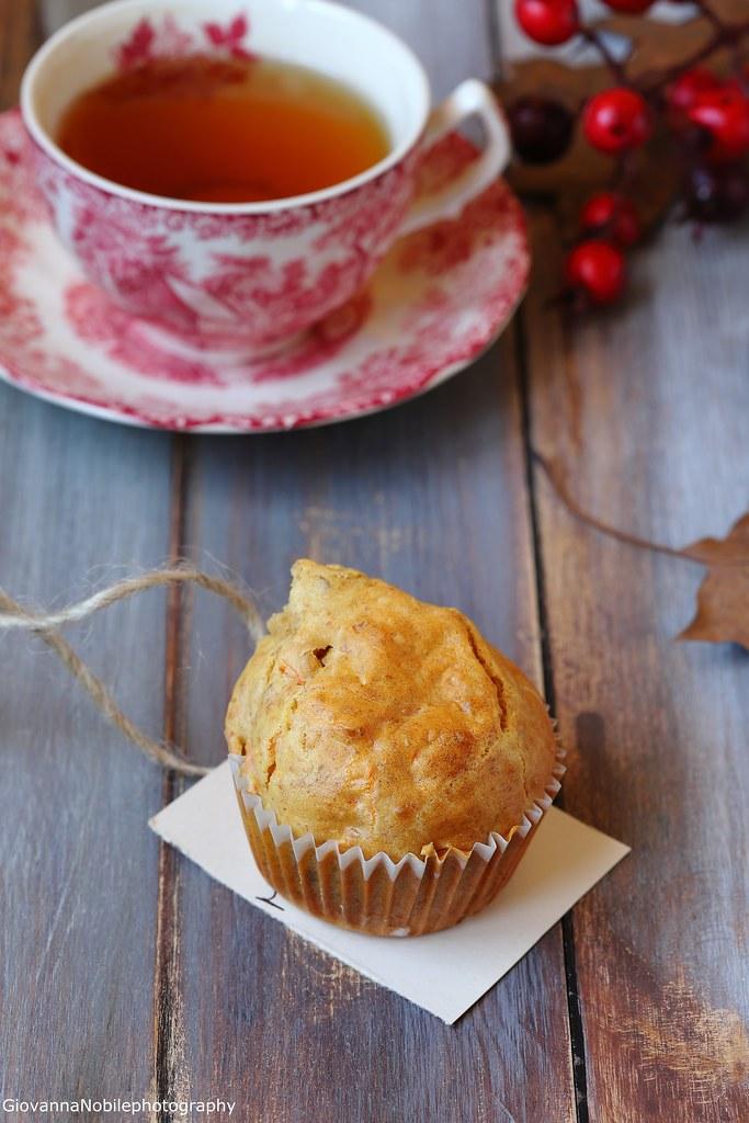 Muffin con carote e mandorle 6