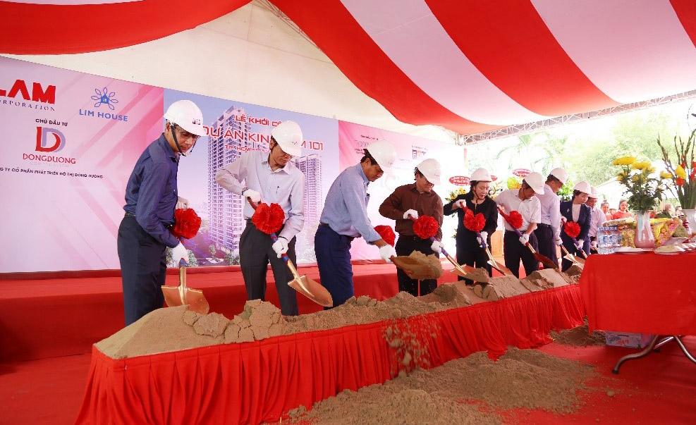 Lễ khởi công dự án căn hộ Kingdom 101 quận 10.