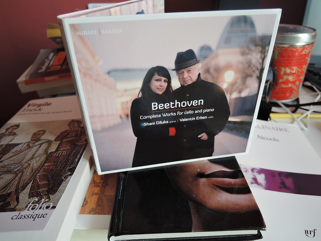 Oeuvre complète pour violoncelle et piano de Beethoven : Shani Diluka et Valentin Erben