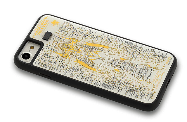與眾不同的獨特視覺效果!FLASH EVA01 電路板藝術手機殼 基板アート iPhone ケース