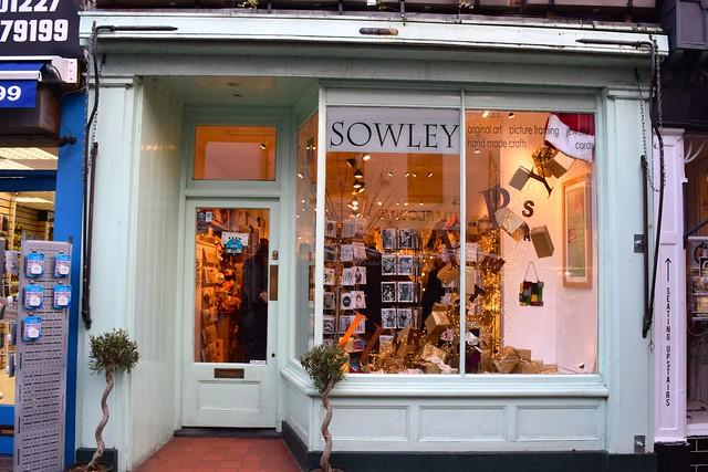 Sowley Christmas Windows, Canterbury #christmas
