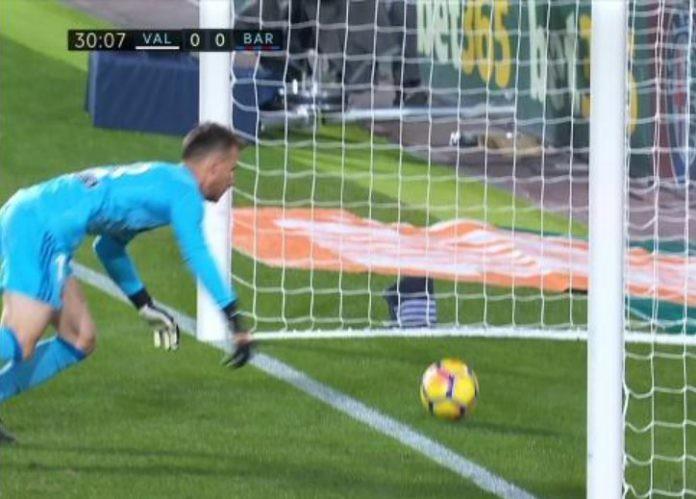 Gol Sah Lionel Messi Dianulir Oleh Wasit