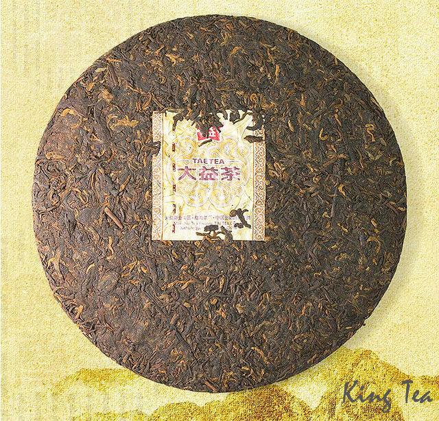 Free Shipping 2016 TAE TEA DaYi 8592 Beeng Cake  China YunNan MengHai Chinese Puer Puerh Ripe Tea Cooked Shou Cha Premium (1601)